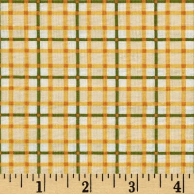 Sunshine Orchard Gingham Ivory/Yellow