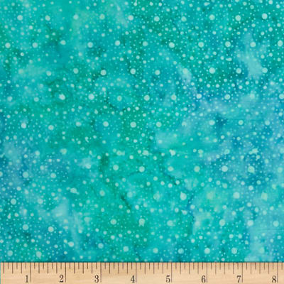 Wilmington Batiks Mini Dots Light Green