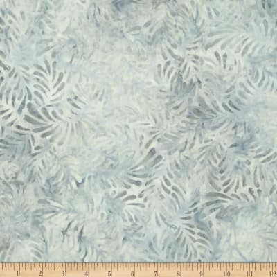 Wilmington Batiks Feathers Light Gray