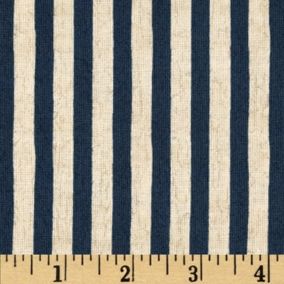 We the People Stripes Ivory/Blue