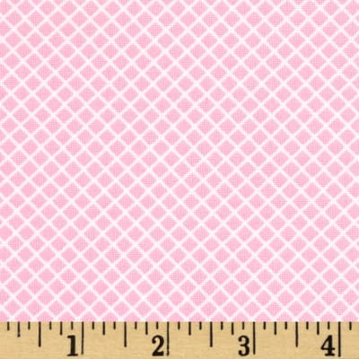 Kaufman Remix Lattice Pink