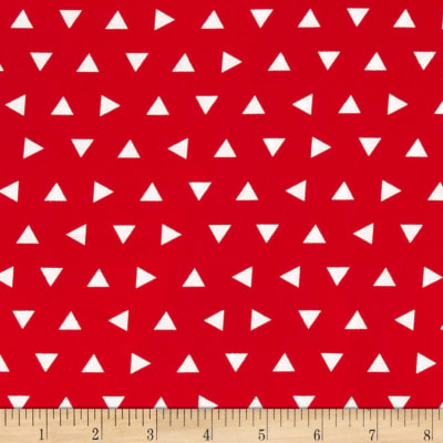 Kaufman Remix Triangles Scatter Red