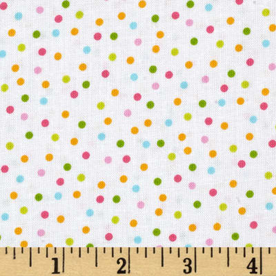 Kaufman Remix Scattered Small Dots Spring