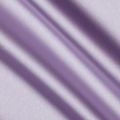 Debutante Stretch Satin Fabric Candied Violet