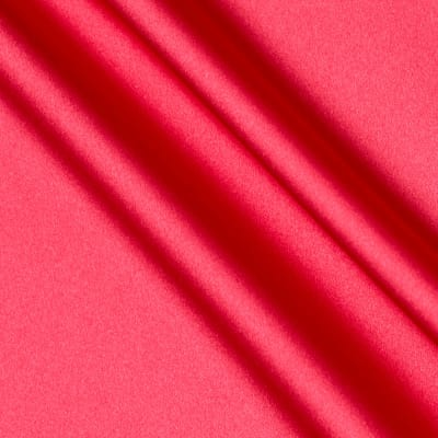 Debutante Stretch Satin Fabric Shocking Pink