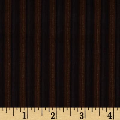 Calico Collection Stripes Black/Brown