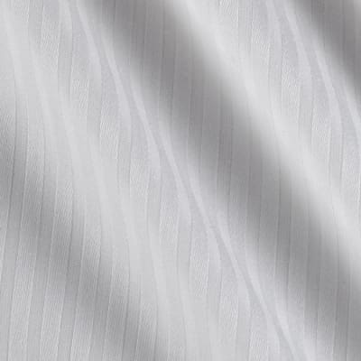 Kaufman Raw & Refined 5 oz. Dobby Medium Stripe White