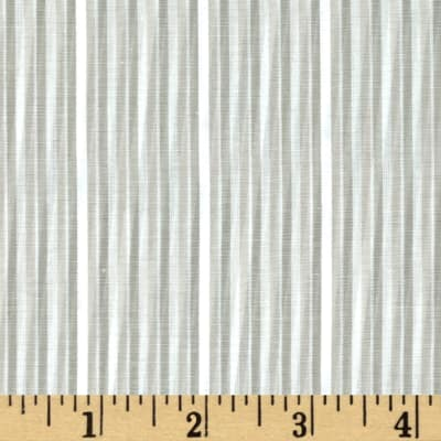 Yarn Dyed Stripe Shirting Stripes Grey/Off White