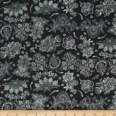 Rue 36 Lace Garden Licorice