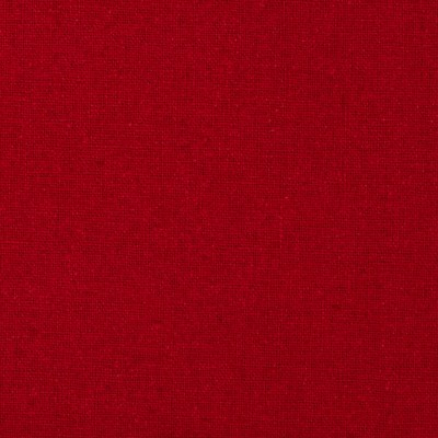 Raw Silk Noil Fire Engine Red