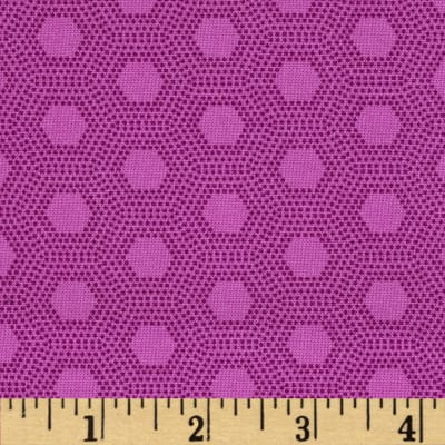 Jungle Things Hexies Violet