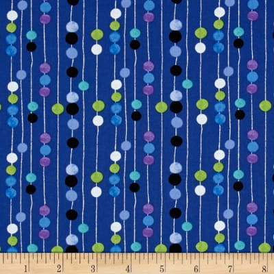 Colors and Count Abacus Navy