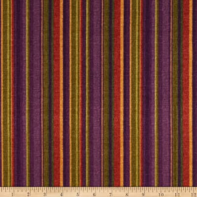 Kensington Flannel Stripe Plum