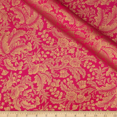 Alchemy Metallic Botanical Hot Pink
