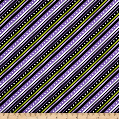 Mind Your Mummy Diagonal Stripe Purple