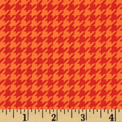 Mind Your Mummy Houndstooth Orange
