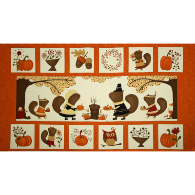 Moda Perfectly Seasoned 24 In. Panel Pumpkin