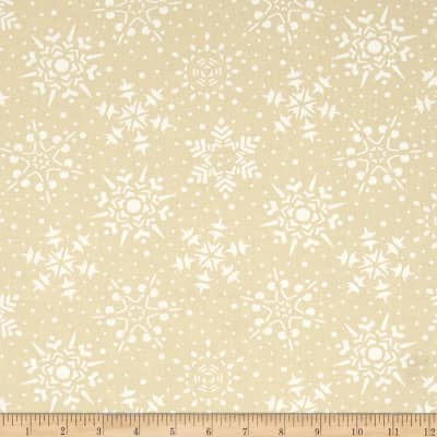 Moda Very Merry Snowflakes Snow