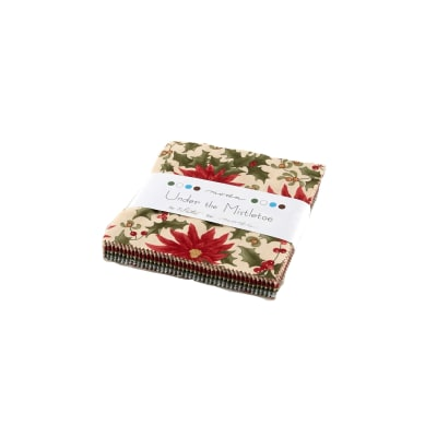 "Moda Under the Mistletoe 5"" Charm Pack Multi"