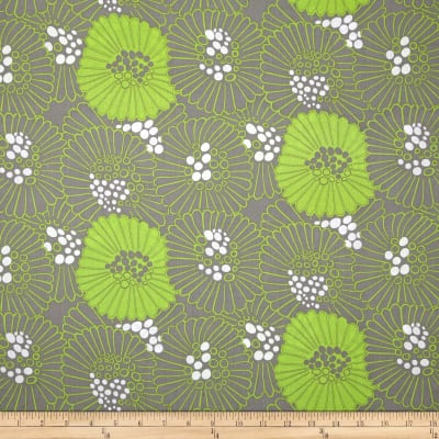 Mojito Large Toss Floral Light Gray
