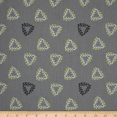 Mojito Small Toss Floral Gray
