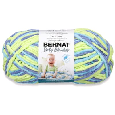 Bernat Baby Blanket Big Ball Yarn (04322) Handsome