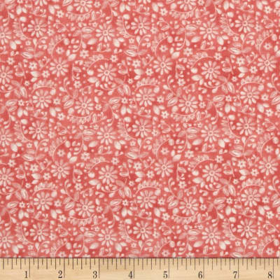 ADORNit You & Me Etched Blossoms Coral