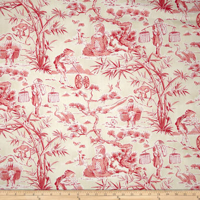 Waverly Haiku Toile Chintz Azalea