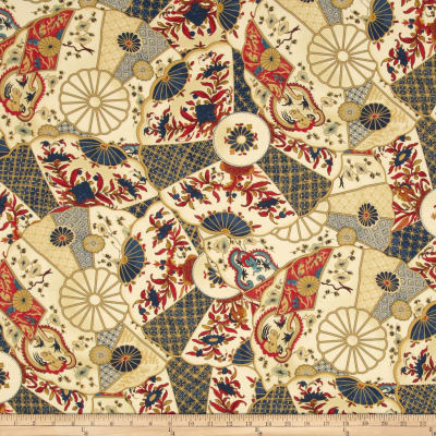 Waverly Williamsburg Imari Twill Jewel