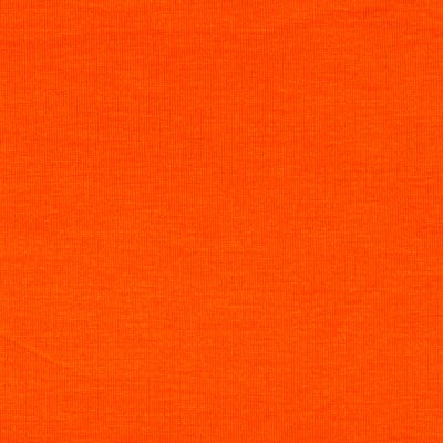 Rayon Spandex Jersey Knit Electric Orange