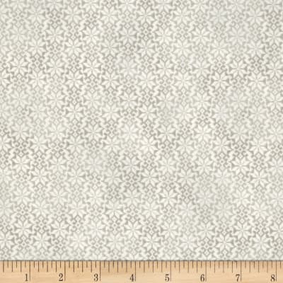 Winter Celebration Snowflake Geo Grey