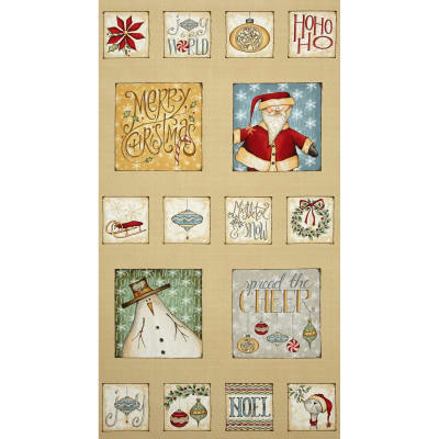 Christmas Whimsy 24 In. Panel Multi