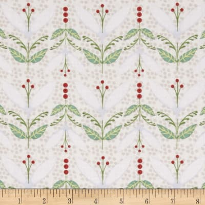 Woodsy Small Pictorial Stripe Light Cream