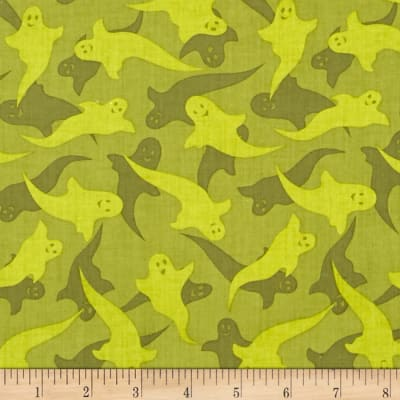 Haunted Hill Tonal Ghosts Olive