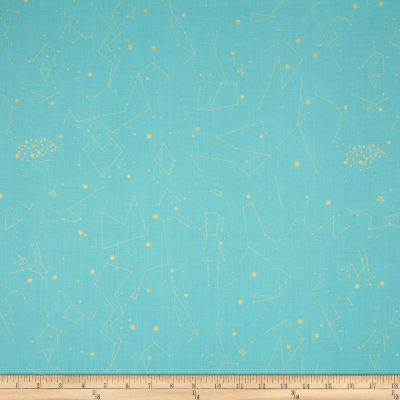 Natural History Metallic Constellations Blue