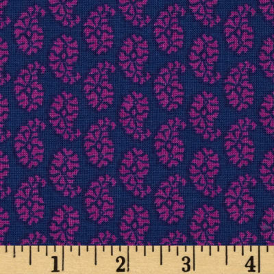 Joyful Small Paisley Purple