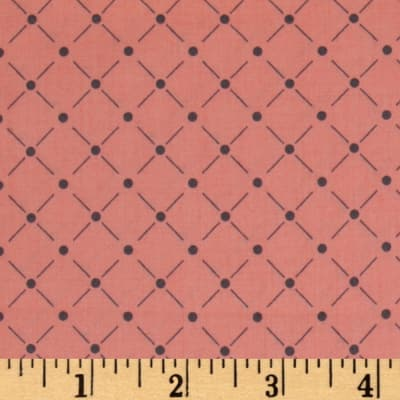 Zoey Lattice Pink