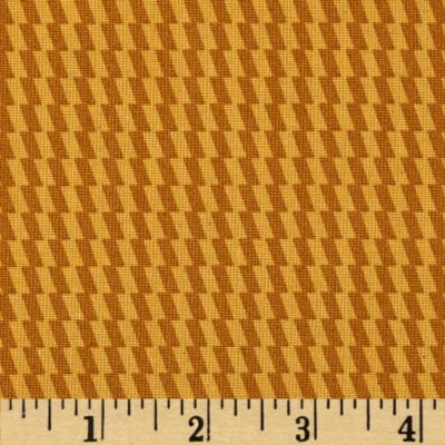 Heirloom Unbleached Checks Marigold