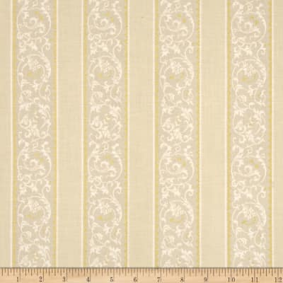 Downton Abbey Celebrations Metallic Ribbon Stripe Gold