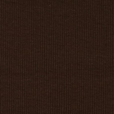 Basic Cotton Rib Knit Brown