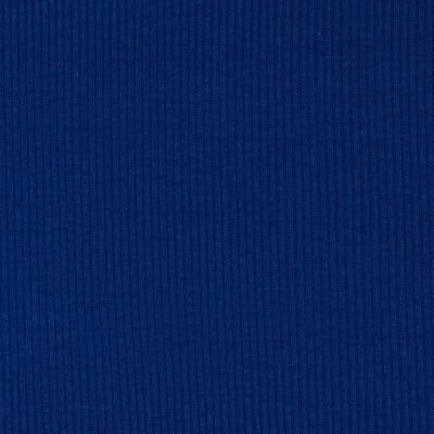 Basic Cotton Rib Knit Royal Blue