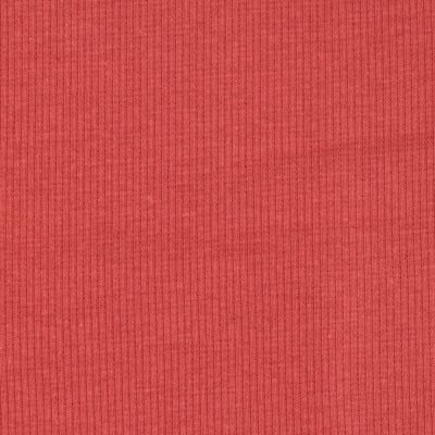 Basic Cotton Rib Knit Coral