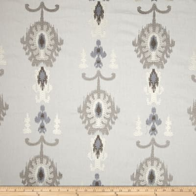 Swavelle/Mill Creek Embroidered Statice Ikat Cloud