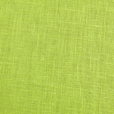 European 100% Washed Linen Lemon Grass