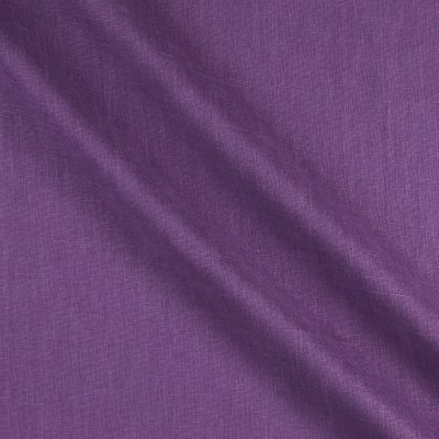 European 100% Laundered Linen Purple