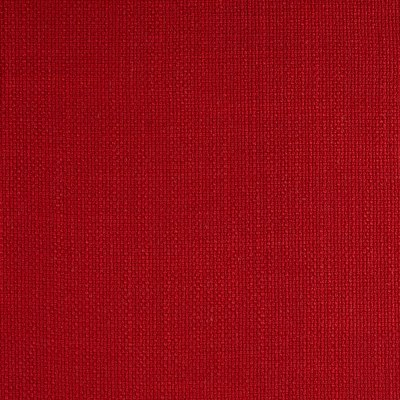 European Faux Linen Upholstery Carmine Red