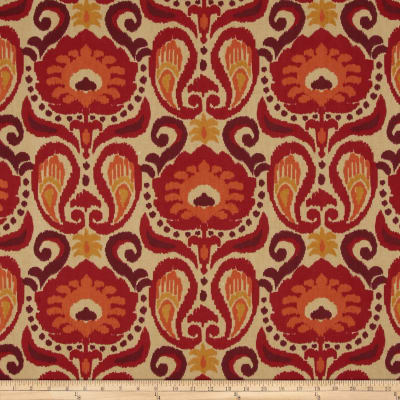 Golding by P Kaufmann Grand Ikat Persimmon