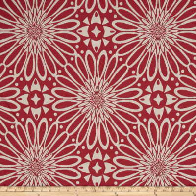 Golding Flower Optic Jacquard Rosy Red
