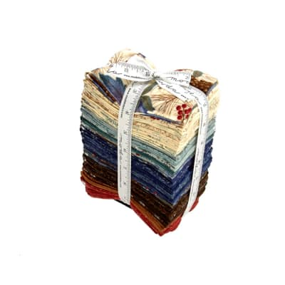 Moda Winter Forest Flannel Fat Eighths Multi