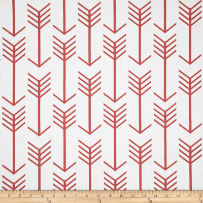 Premier Prints Arrow White/Coral